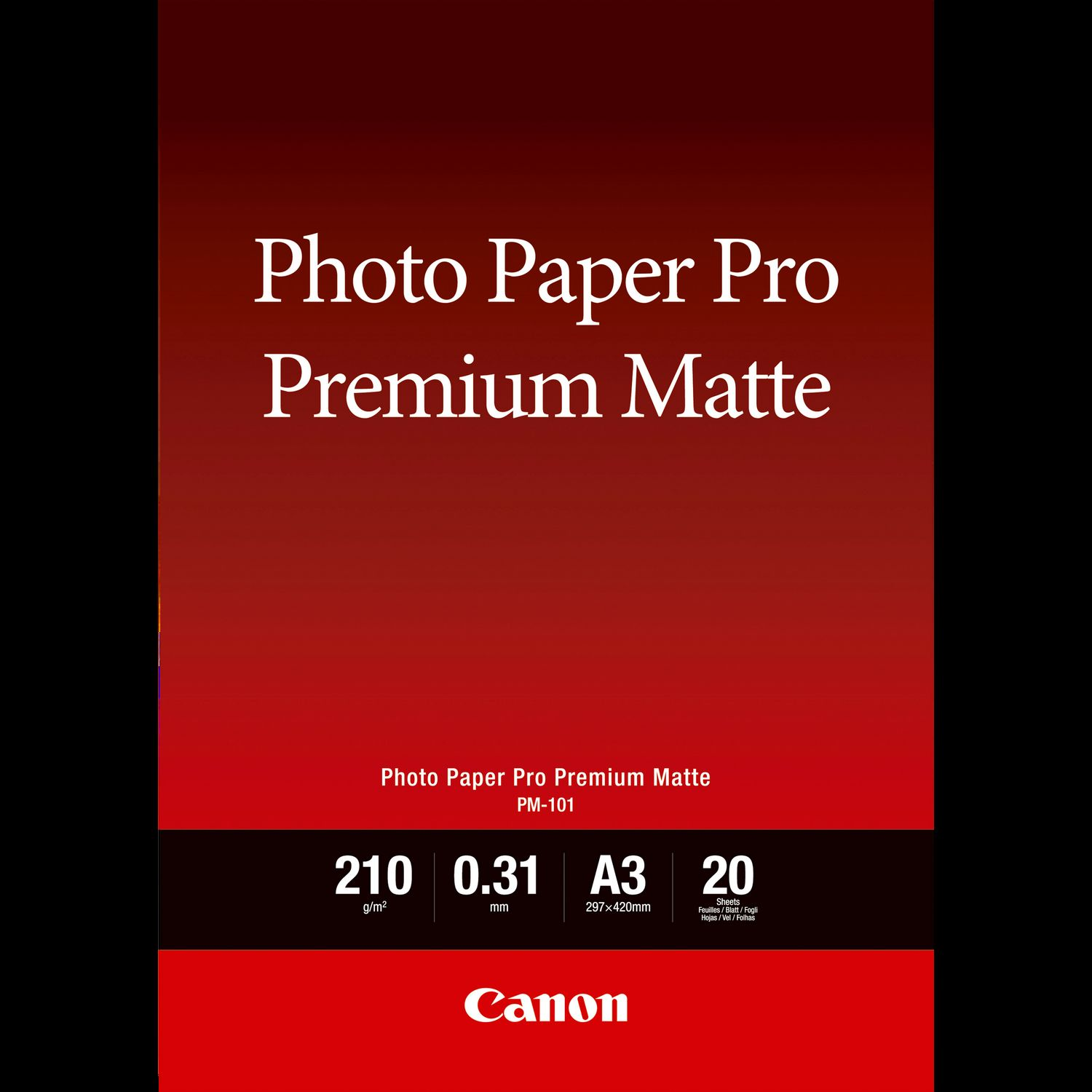 Inkjet Paper for Photo Professionals and Hobbyists Photo Canon premium photo paper