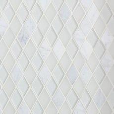 Dover Carrara Diamond Glass Mosaic