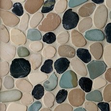 Durian River Flat Pebble Mosaic