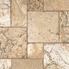 Lava Onyx Brushed Chiseled Travertine Tile