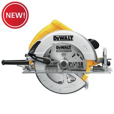 New! DeWalt 7-1/4 in. Lightweight Circular Saw