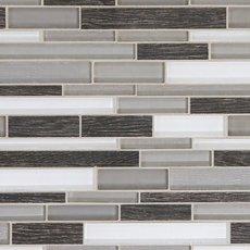 Acadia Bay Linear Glass Mosaic