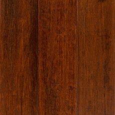 Classic Brown Hand Scraped Locking Stranded Engineered Bamboo