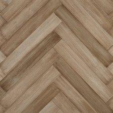 Bonsika Herringbone Distressed Solid Stranded Bamboo
