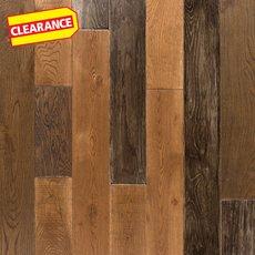 Clearance! Rustic Dream Oak Solid Hardwood