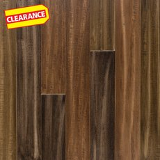Clearance! Madison Hand Scraped Wire Brushed Water-Resistant Stranded Engineered Bamboo
