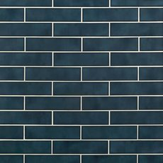 La Belle Antique Blue Polished Ceramic Tile