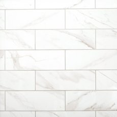 Prestige Calacatta Polished Ceramic Tile