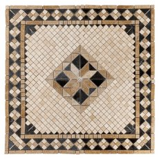 Aruba Tumbled Travertine Medallion