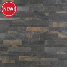 New! Forest Multi Color Slate Peel and Stick Ledger Panel