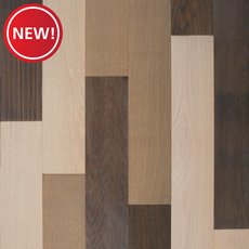 New! Sierra White Oak Wire Brushed Water-Resistant Engineered Hardwood