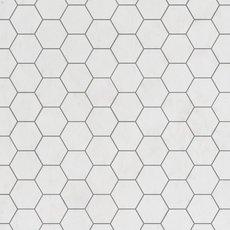 Dolomite Premium 3 in. Hexagon Marble Mosaic