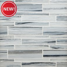New! Misty Ford Linear Glass Mosaic