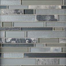 Luna Linear Glass Mosaic