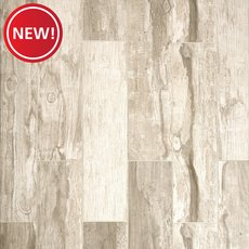 New! Westford Gray III Wood Plank Porcelain Tile