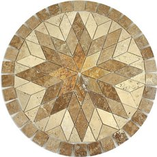 Polaris Decorative Medallion