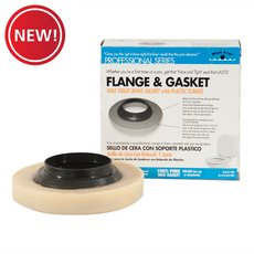 New! PlumBest Wax Gasket with Plastic Flange