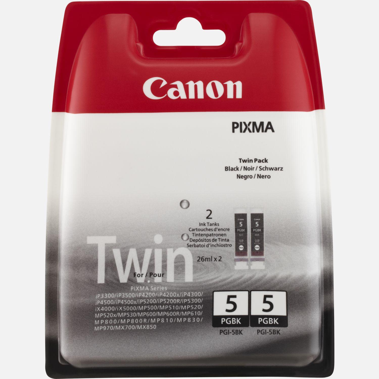 Buy Canon Pgi 5bk Black Ink Cartridge Twin Pack Ireland Store Tinta G Series Yellow