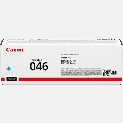 Cartouche de toner cyan Canon 046C