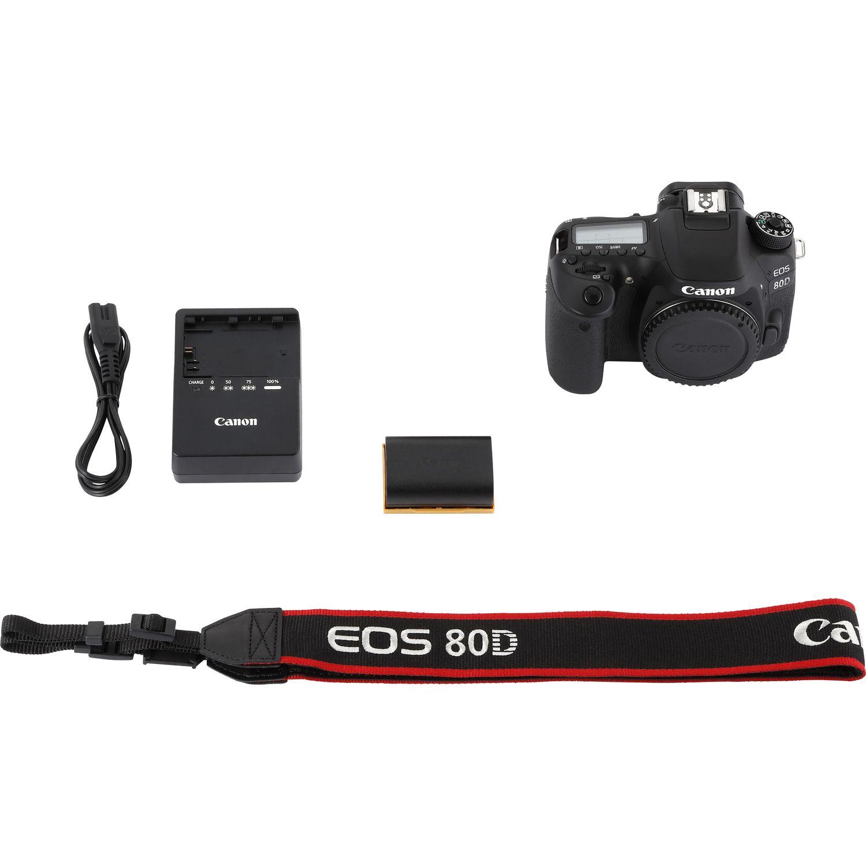 Buy Canon EOS 80D Body in Wi-Fi Cameras — Canon UAE Store
