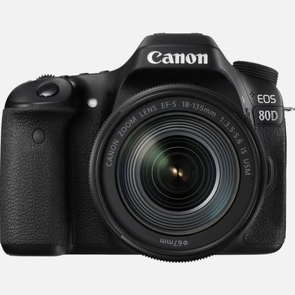 Canon EOS 80D + objectif 18-135mm IS USM