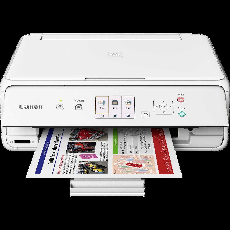 Canon PIXMA TS5051 - Blanc in Imprimantes wifi — Canon ...