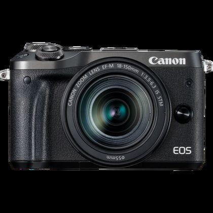Canon EOS M6 + objectif EF-M 18-150mm S-IS-STM noir