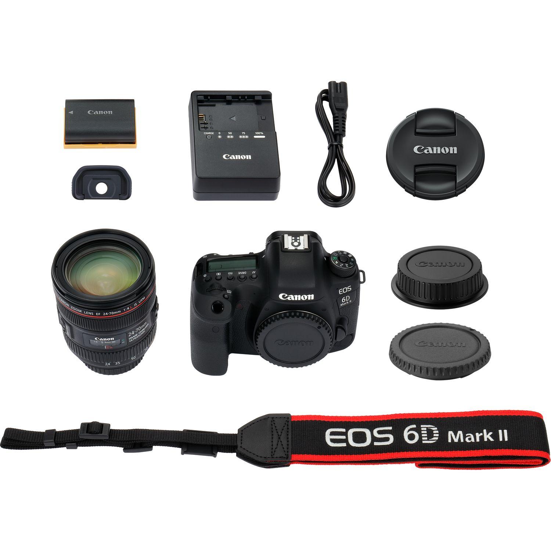 Buy Canon EOS 6D Mark II + EF 24-70mm f/4L IS USM Lens in Wi