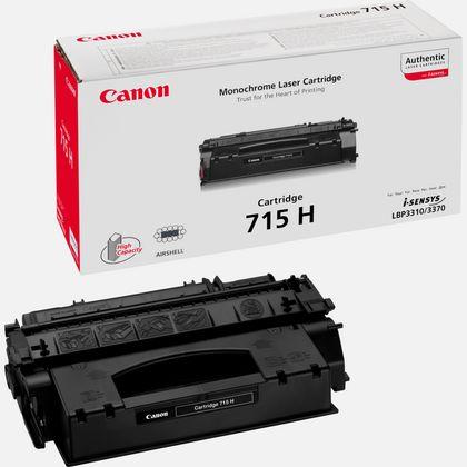 Cartouche de toner noire à haut rendement Canon 715H