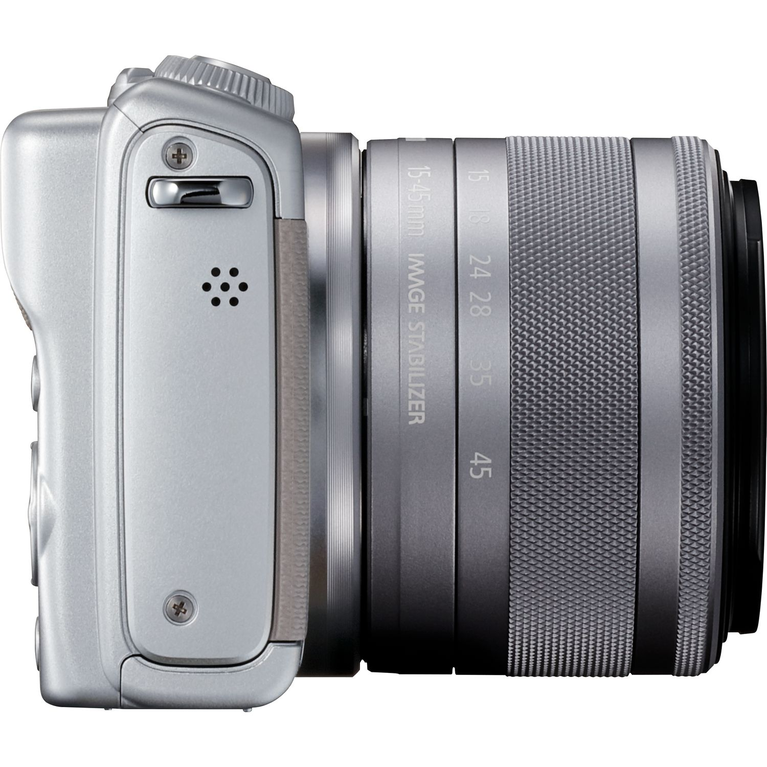 Buy Canon Eos M100 Grey Ef M 15 45mm F 35 63 Is Stm Lens Silver M3 Kit M15 Kamera Mirrorless Magnify Image