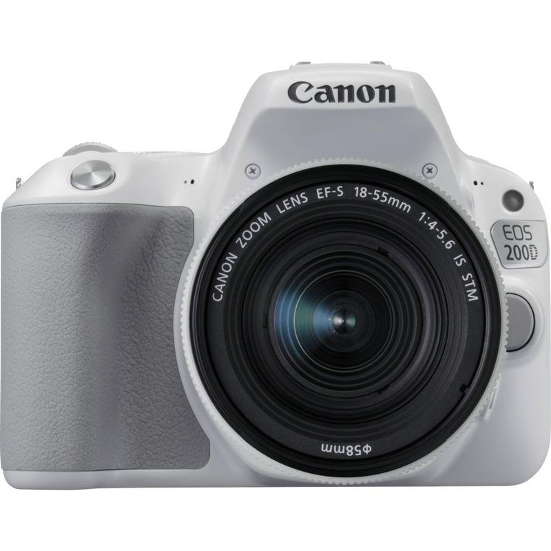 ccdfe7a9a Buy Canon EOS 200D White + EF-S 18-55mm f/4-5.6 IS STM Lens Silver ...