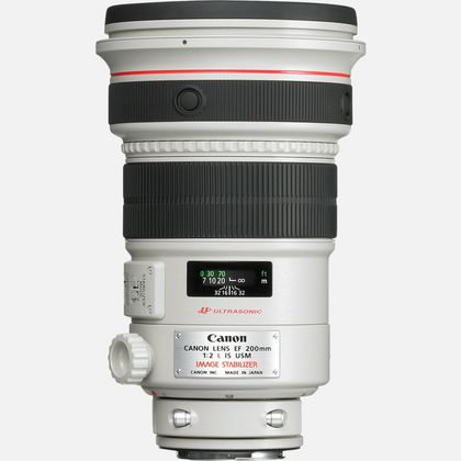 Objectif Canon EF 200mm f/2L IS USM