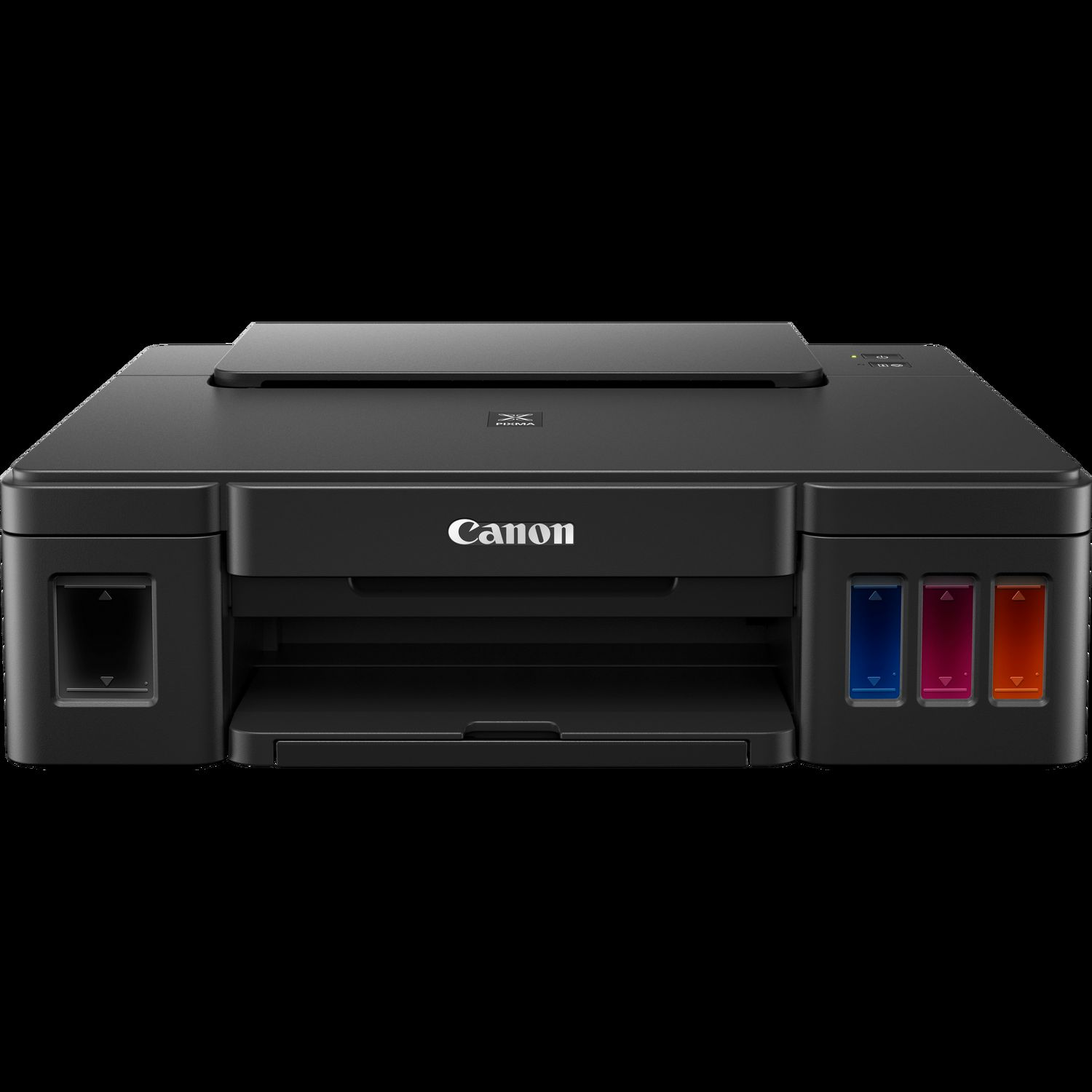 Overview. Compact All-In-One Printer with New Low Cost Ink Cartridges The PIXMA E is a compact Wireless Inkjet All-In-One printer that offers real convenience and remarkable affordability.