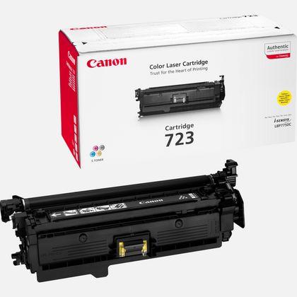 Cartouche toner jaune Canon 723Y