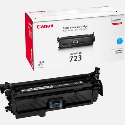 Cartouche toner cyan Canon 723C