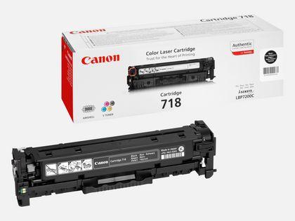 Cartouche toner noir Canon 718BK