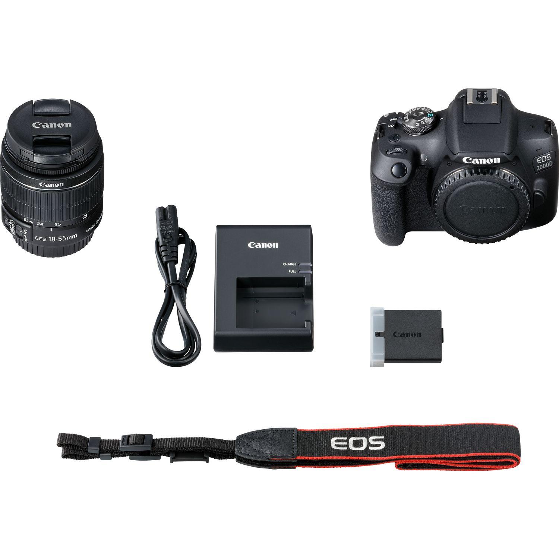 7875817dd68 Buy Canon EOS 2000D + EF-S 18-55mm IS II Lens in Wi-Fi Cameras ...