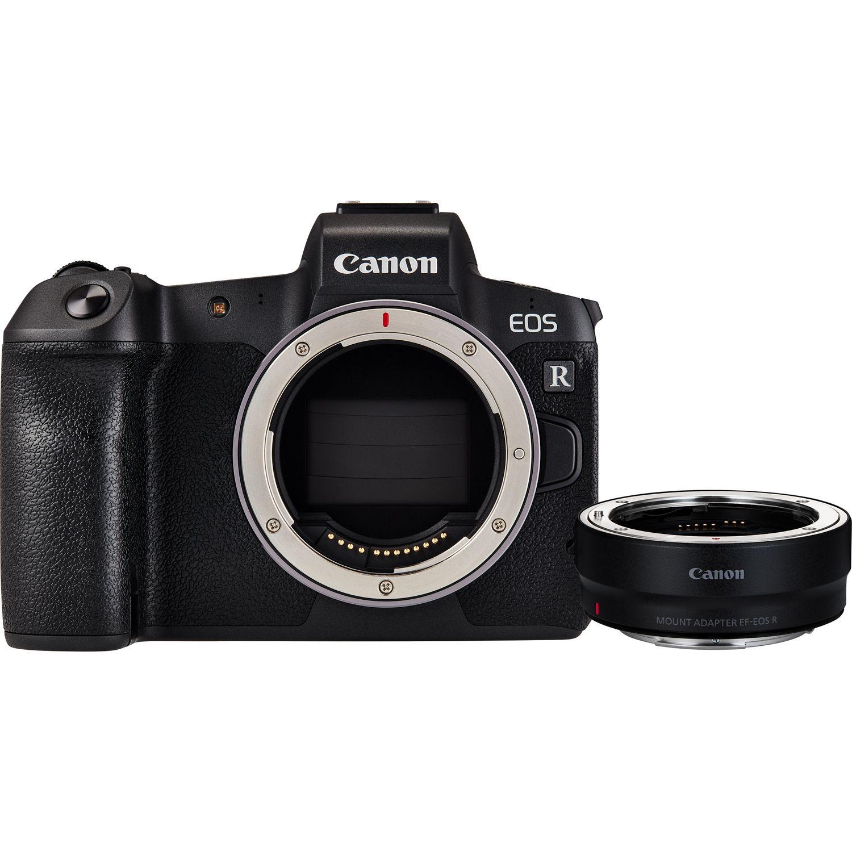 Buy Canon EOS R Body + Mount Adapter EF-EOS R in Wi-Fi
