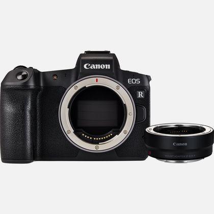 Boîtier Canon EOS R + bague d'adaptation EF-RF