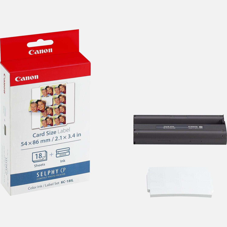 Aliexpress Com Buy Htk18 Tws Mini Invisible Headphones: Buy Canon KC-18IL Ink/Paper Set Mini Stickers