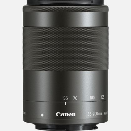 Objectif Canon EF-M 55-200mm f/4.5-6.3 IS STM - Graphite