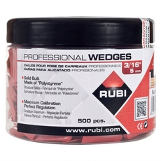 Rubi 3/16in. Tile Wedges