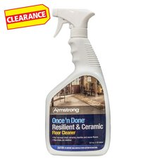 Clearance! Armstrong Once N Done Floor Cleaner
