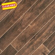 Clearance! Tabula Chocolate Wood Plank Porcelain Tile