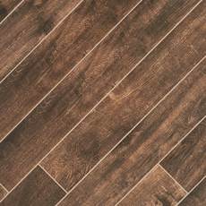 Tabula Chocolate Wood Plank Porcelain Tile