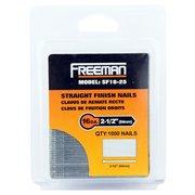 Freeman 16 Gauge Straight Finish Nail 2 1/2in.