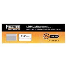 Freeman 18 Gauge L Cleat 1 1/2in. Flooring Nails
