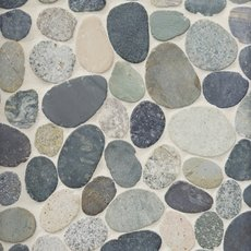 Kayan River Pebblestone Mosaic