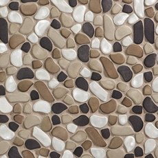Metallico Moon Pebble Mosaic