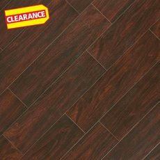 Clearance! Vintage Walnut Wood Plank Porcelain Tile